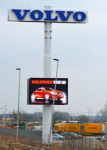 lichtreclamemast Volvo Beesd